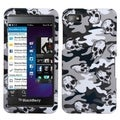 BasAcc Gray Skull Camo Case for Blackberry Z10