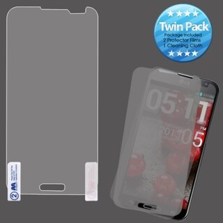 BasAcc LCD Screen Protector Twin Pack for LG E980 Optimus G Pro