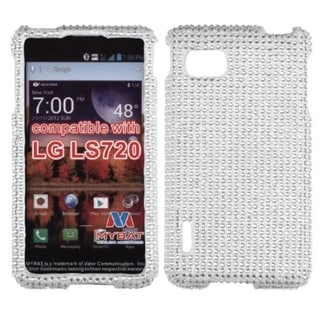 BasAcc Silver Diamante Case for LG LS720