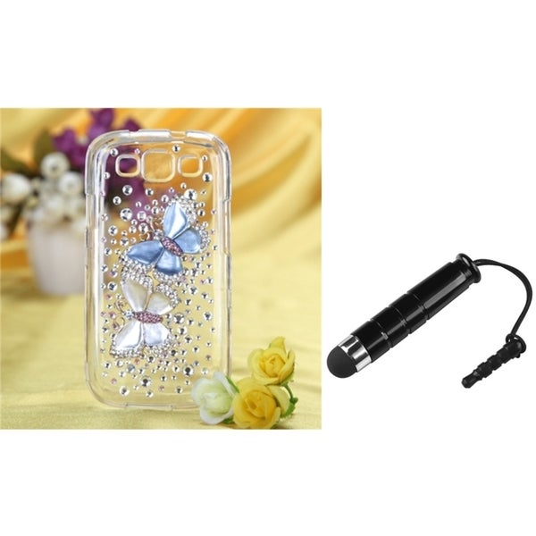 BasAcc Diamante Case/ Stylus for Samsung© Galaxy S III/ S3 I9300
