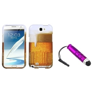 BasAcc Mini Stylus/ Case for Samsung Galaxy Note II T889/ I605/ N7100