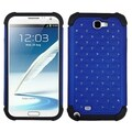 BasAcc Dark Blue/ Black Lattice Case for Samsung Galaxy Note 2