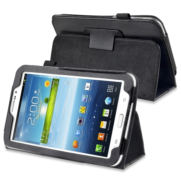 INSTEN Leather Tablet Case Cover with Stand for Samsung Galaxy Tab 3 7.0 P3200