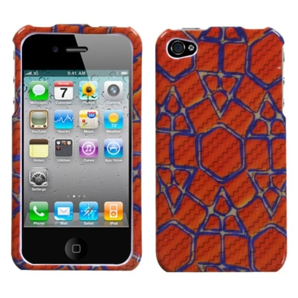INSTEN Cobblestone Phone Case Cover for Apple iPhone 4S/ 4