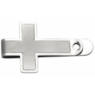 Stainless Steel Cross-shaped Money Clip
