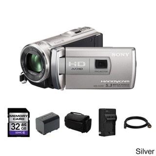 Sony HDR-PJ200 HD Handycam Camcorder with Projector 32GB Bundle