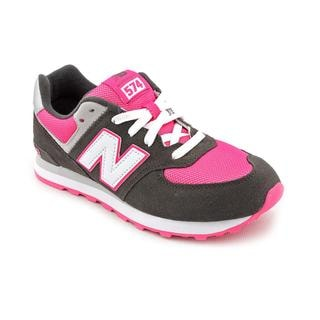 New Balance Girl's 'KL574' Regular Suede Athletic Shoe