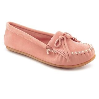Minnetonka Women's 'Kilty' Regular Suede Casual Shoes