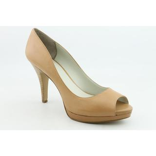Nine West Women's 'Danee' Beige Leather Dress Shoes