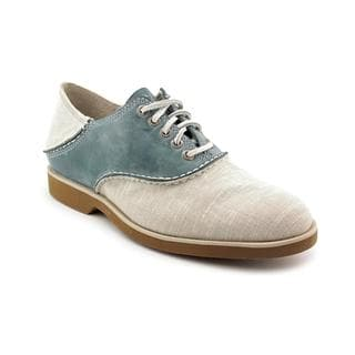 Sperry Top Sider Men's 'Boat Ox Saddle Canvas' Gray Canvas Casual Shoes
