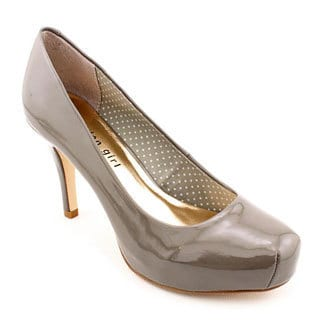 Madden Girl by Steve Madden Women's 'Getta' Gray Patent Dress Shoes