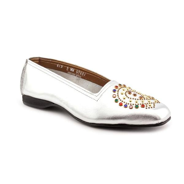 California Magdesians Women's 'Tasha' Leather Casual Shoes - Extra Wide