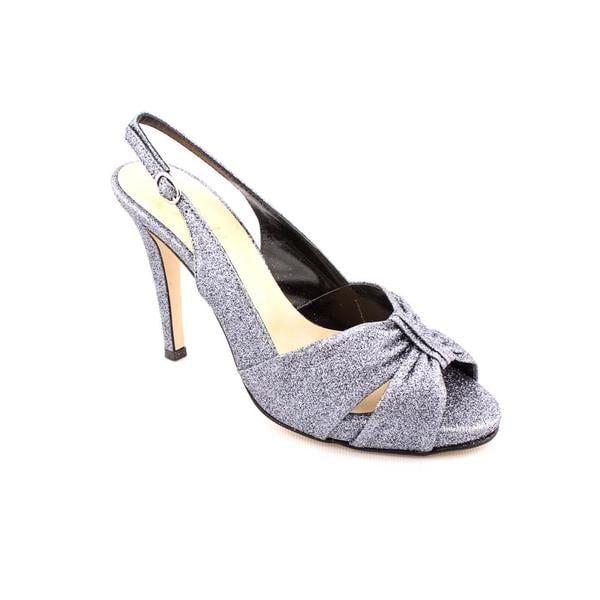Butter Women's 'Silverstone' Silver Synthetic Dress Shoes
