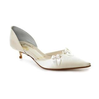 Bridal by Butter Women's 'Carter' Ivory Satin Dress Shoes