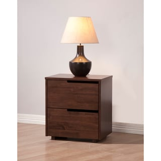 Burke Tobacco 2-drawer Nighstand