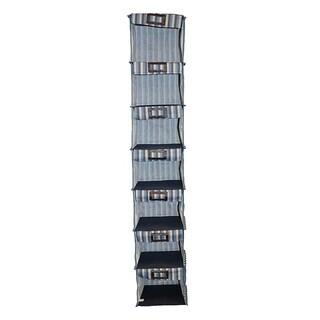 7-shelf Hanging Striped Organizer