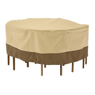 Veranda Round Patio Table and Chairs Set Cover