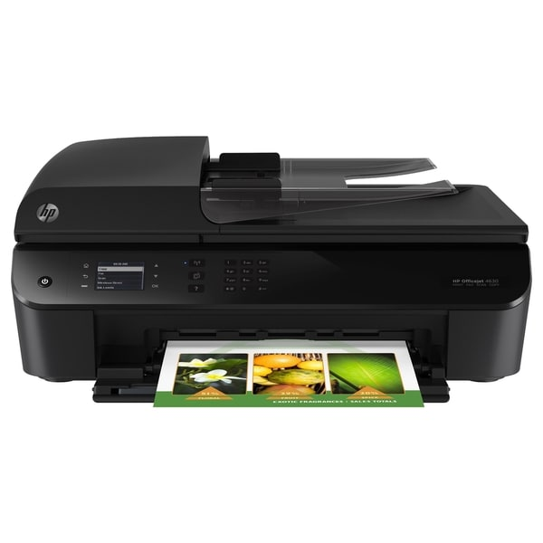 HP Officejet 4630 Inkjet Multifunction Printer - Color - Plain Paper