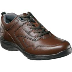 Men's Nunn Bush Prosper Brown Tumbled Leather