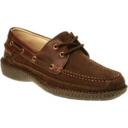 Men's Nunn Bush Squall Brown Nubuck/Brown Leather