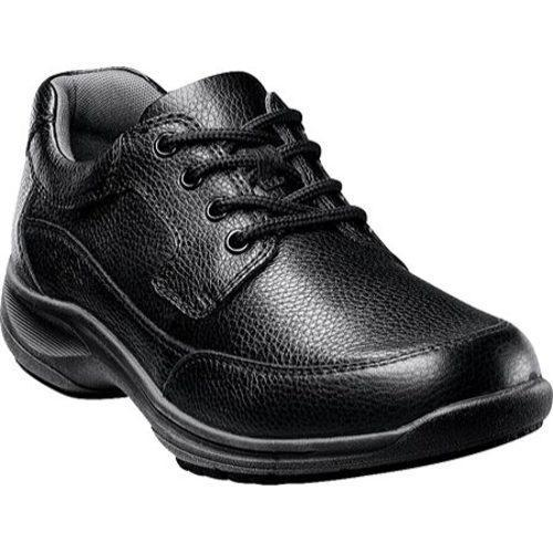 Men's Nunn Bush Stroll Black Tumbled Leather