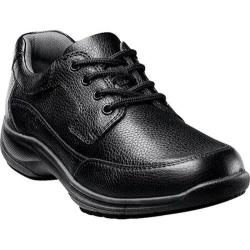 Men's Nunn Bush Stroll Black Tumbled Leather