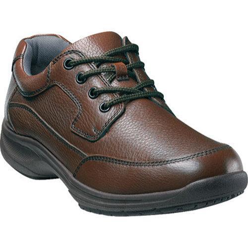 Men's Nunn Bush Stroll Brown Tumbled Leather