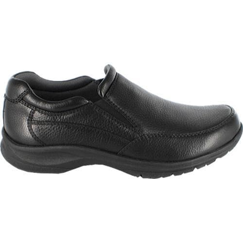 Men's Nunn Bush Strutt Black Tumbled Leather