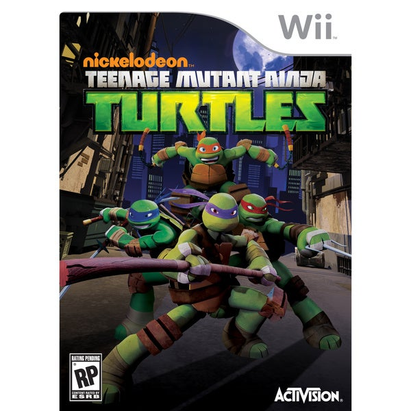 Wii - Nickelodeon's Teenage Mutant Ninja Turtles 11484795