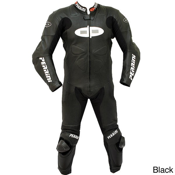 Perrini Fusion Motorcycle Riding Racing Leather Suit
