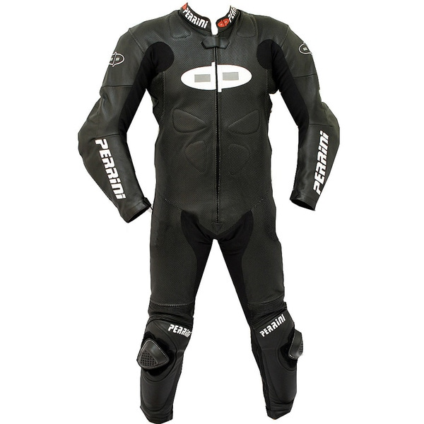 Perrini Fusion Motorcycle Riding Racing Leather Suit 11485890