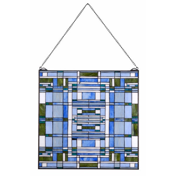Wrighton 24-Inch Tiffany Window Panel