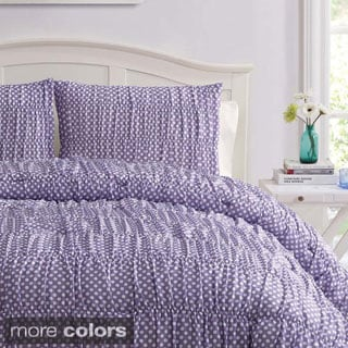 Polka Dot 3-piece Comforter Set