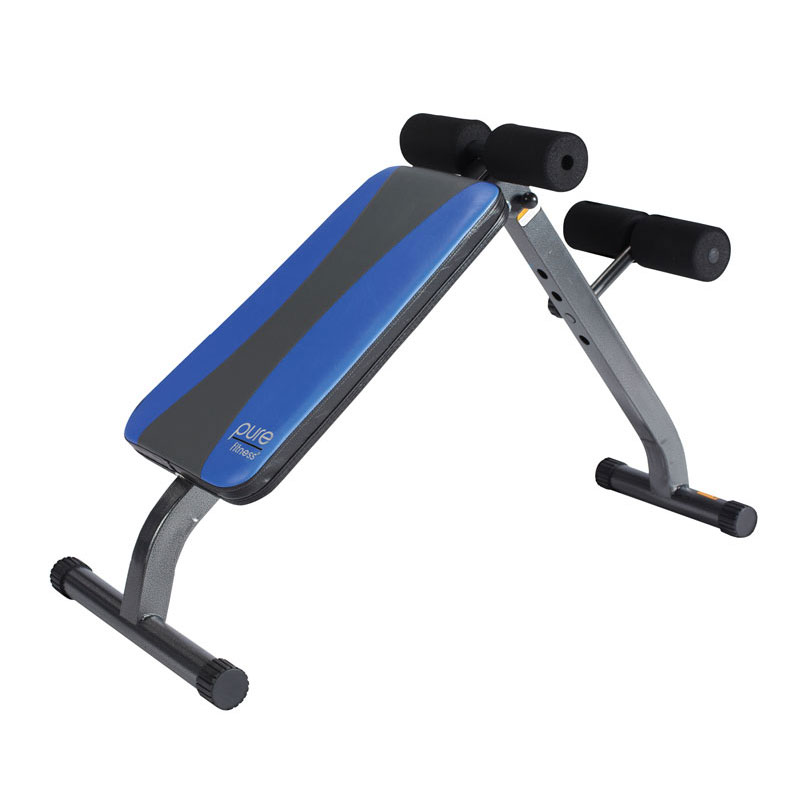 Ab crunch sit up bench fitness in home exercise equipment workout free ship ebay Abs bench