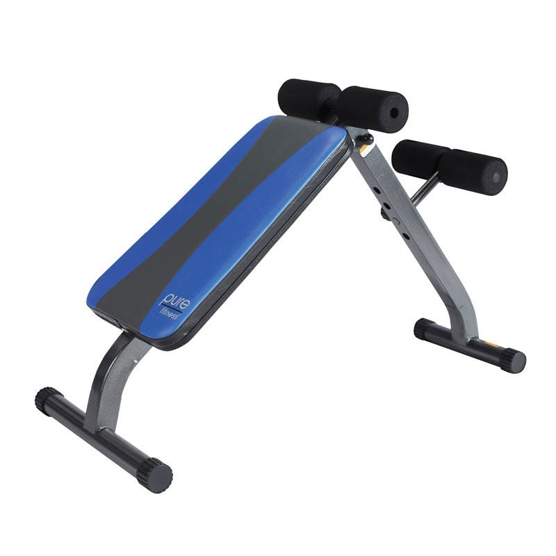 Ab Crunch Sit Up Bench Fitness In Home Exercise Equipment Workout Free Ship Ebay