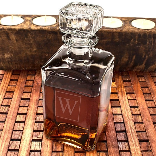 Personalized Glass Decanter