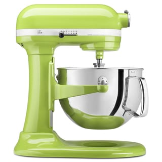 KitchenAid RKP26M1XGA Green Apple 6-quart Pro 600 Series Bowl-Lift Stand Mixer (Refurbished)