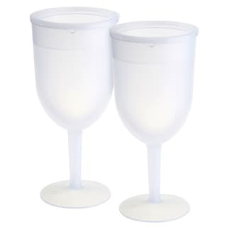 KitchenWorthy Acrylic Freezer Goblets (Case of 32)