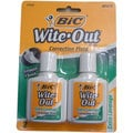 Bic Wite Out Extra Coverage Correction Fluid (Pack of 2)