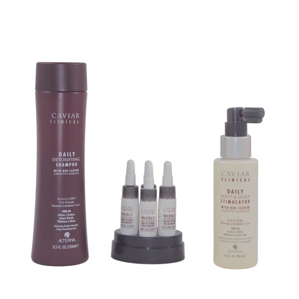 Alterna Caviar Clinical Red Clover Hair Growth Complex System