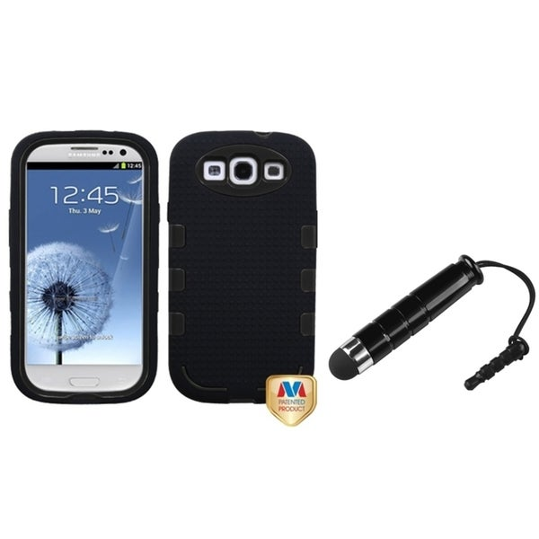 BasAcc Hybrid Protector Case/ Mini Stylus for Samsung© Galaxy SIII/ S3