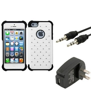 BasAcc Case/ Travel Charger/ Audio Cable for Apple� iPhone 5