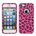 BasAcc Pink Leopard Circle Hard Case for Apple iPhone 5