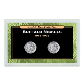 American Coin Treasures First & Last Buffalo Nickels 1913 to 1938