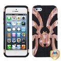 BasAcc Stripes/ Black Spiderbite Hybrid Case for Apple� iPhone 5