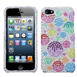 BasAcc Rainbow Bigger Bubbles Diamante Case for Apple� iPhone 5