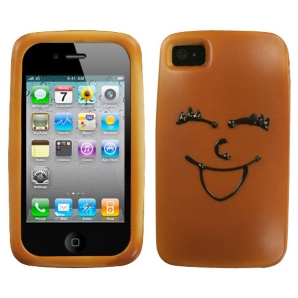 INSTEN Cheerful Cheesecake Phone Case Cover for Apple iPhone 4S/ 4