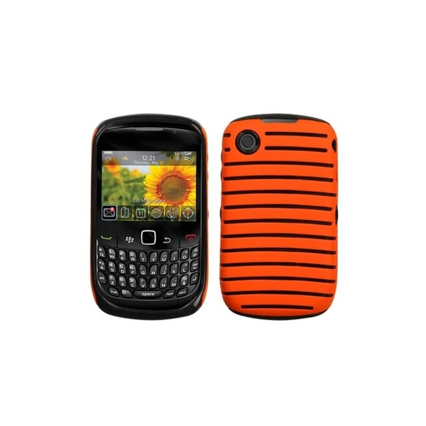 INSTEN Carrot Orange/ Fusion Phone Case Cover for Blackberry 8520/ 8530/ 9300