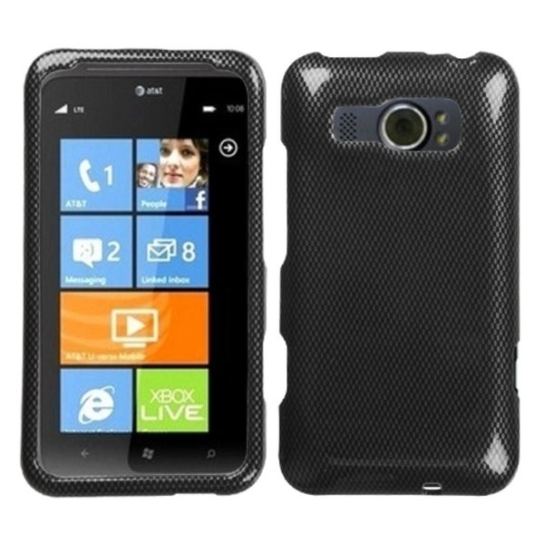 INSTEN Carbon Fiber Phone Case Cover for HTC Titan II