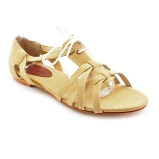 Madison Harding Women's 'Mercer' Tan Fabric Casual Shoes
